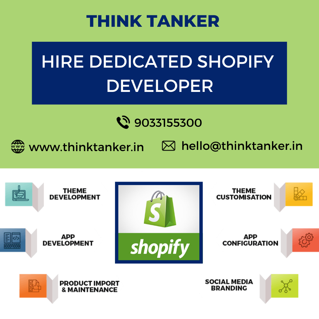 Hire Top Shopify Expert USA - ThinkTanker-Services-Office Services-Ahmedabad