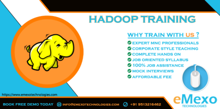 Best Hadoop Training Institute in Electronic City - eMexo Te-Events-Other Events-Bangalore