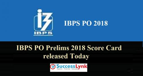IBPS PO Prelims 2018 Score Card Today at Official website, Here'-Services-Other Services-Hyderabad