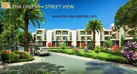 1458 ft² – Independent villas in alpha international city AA1-Real Estate-For Sell-Houses for Sale-Karnal