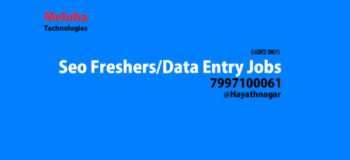 urgent lady data entry operators required in hayathnagar-Jobs-Fresher-Hyderabad