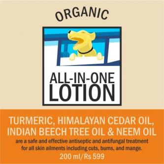 Organic All-in-One Lotion Treatment of all types injuries Dog-Pets-Pet Services-Pune