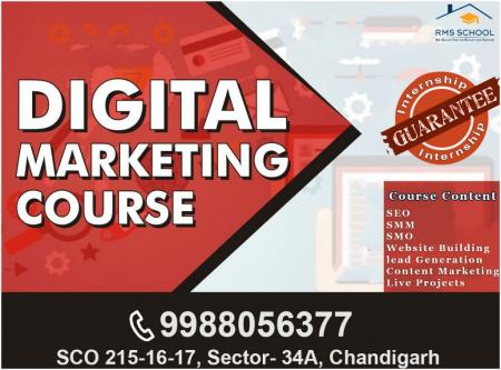 Sep 1st – Dec 29th (Sun) – Digital Marketing Course in Chandigarh-Classes-Computer Classes-Other Computer Classes-Chandigarh