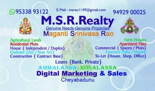 3 BR, 1600 ft² – Residential & Commercial property for Lease in Guntur-Real Estate-For Sell-Flats for Sale-Guntur