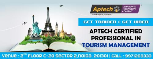 Aptech Certified Professional in Tourism Management-Jobs-Hospitality Tourism & Travel-Delhi