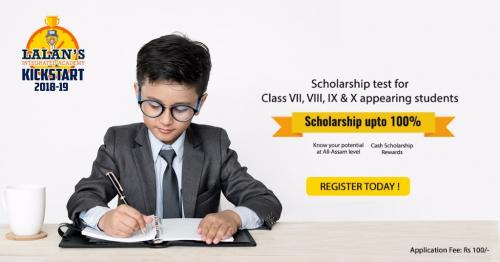 Oct 29th – Dec 31st – ScholarShip Test In Guwahati-Classes-Continuing Education-Guwahati