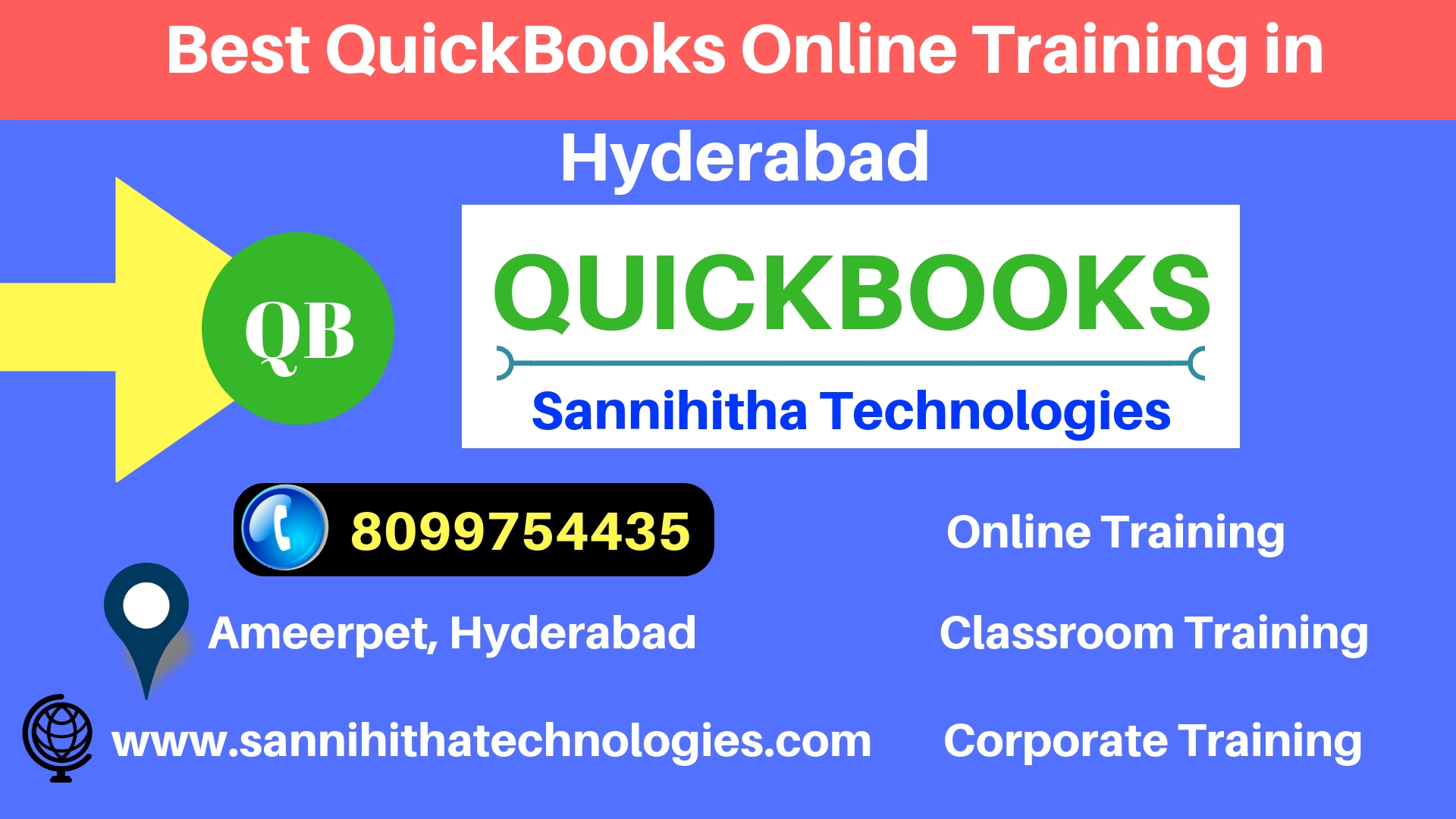 Best QuickBooks OnlinevTraining in Hyderabad-Classes-Computer Classes-Programming Classes-Hyderabad