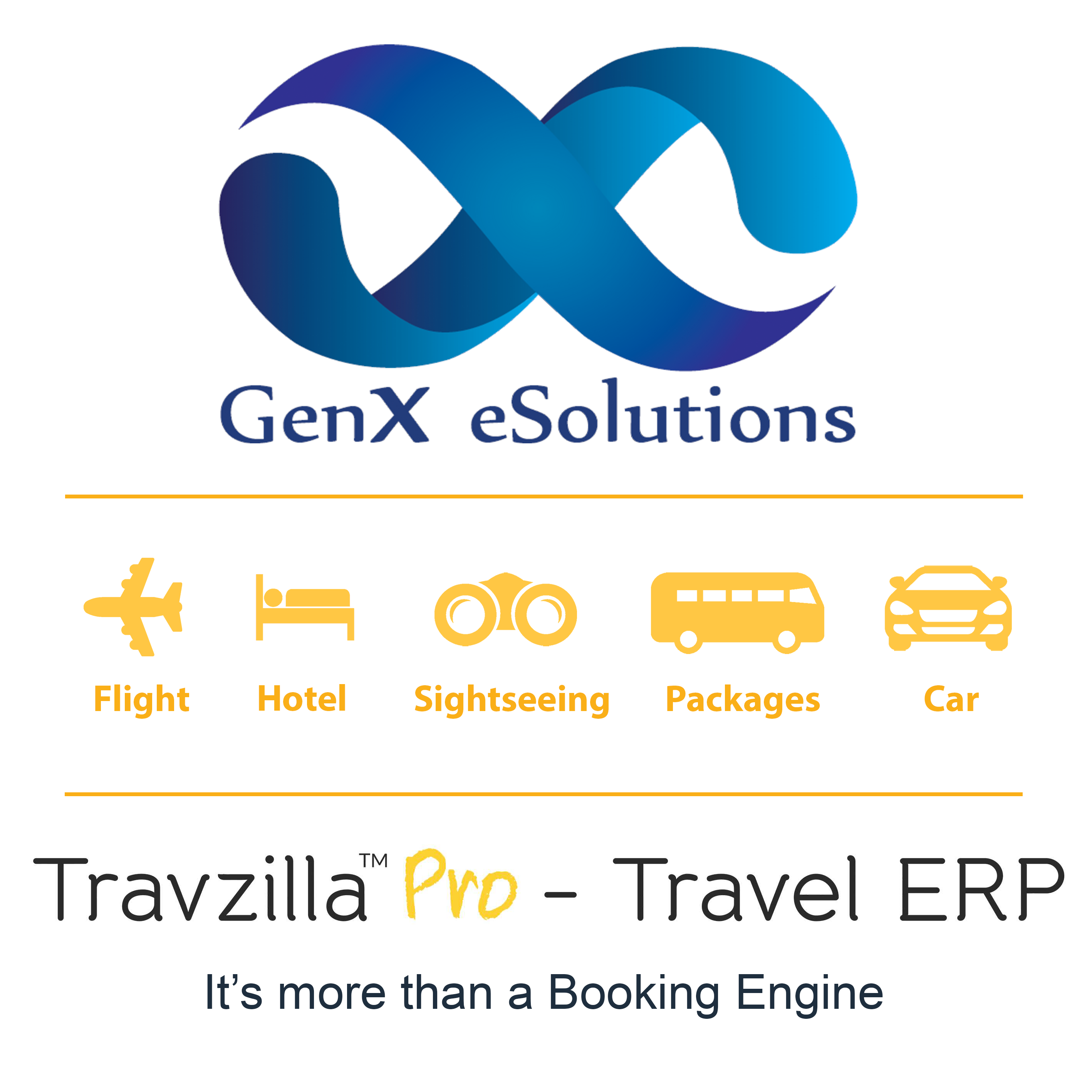 GenX eSolutions is Travel Technology Company for OTA's-Services-Travel Services-Noida