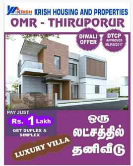 2 BR – grand city OMR-Real Estate-For Sell-Flats for Sale-Chennai