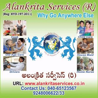 housemaids child care taker Elder care cooks provider Alankrita .....-Community-Household Help-Hyderabad