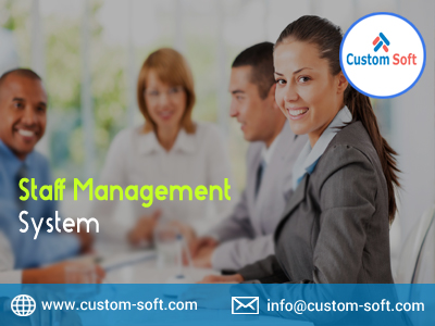 Staff Management System by CustomSoft-Services-Web Services-Pune