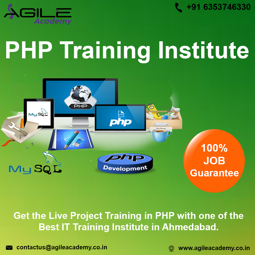 Get Live Project Training in PHP with 100% Job Placement-Classes-Computer Classes-Other Computer Classes-Ahmedabad