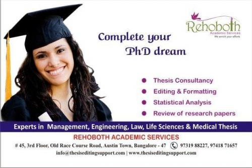 PhD & Masters Thesis Writing Service-Services-Other Services-Chennai