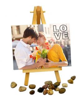 Photo Personalised Mini Easel-Services-Creative & Design Services-Karnal