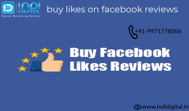 Get the best buy likes on facebook reviews-Services-Web Services-Ghaziabad