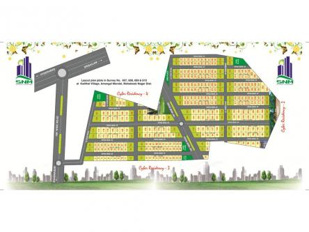 1800 ft² – Residential in Cyber Residency Srisailam Highway Hydera-Real Estate-For Sell-Land for Sale-Hyderabad