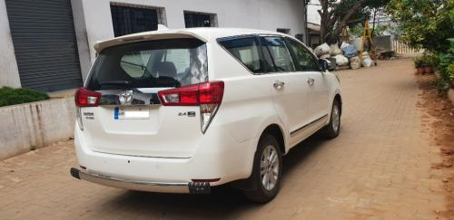 2017 TOYOTA innova crysta GX white very good running conditi-Vehicles-Cars-Toyota-Bangalore