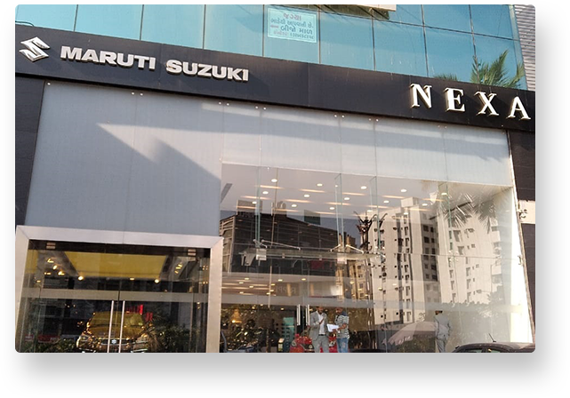 NEXA Car Showroom at  Kataria Automobiles on Piplod Road.-Vehicles-Cars-Maruti Suzuki-Surat
