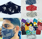 Buy 100% Cotton Safe And Colorful Mask Face Masks In UK.-E-Market-Fashion-Men-Delhi
