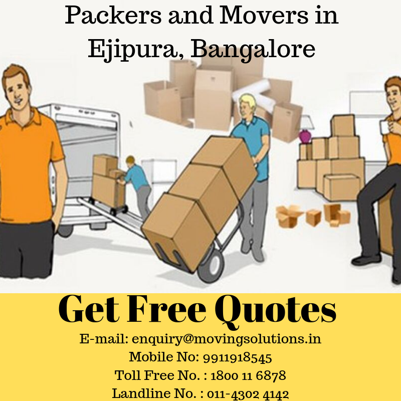 Hire Packers and Movers in Ejipura-Services-Moving & Storage Services-Bangalore