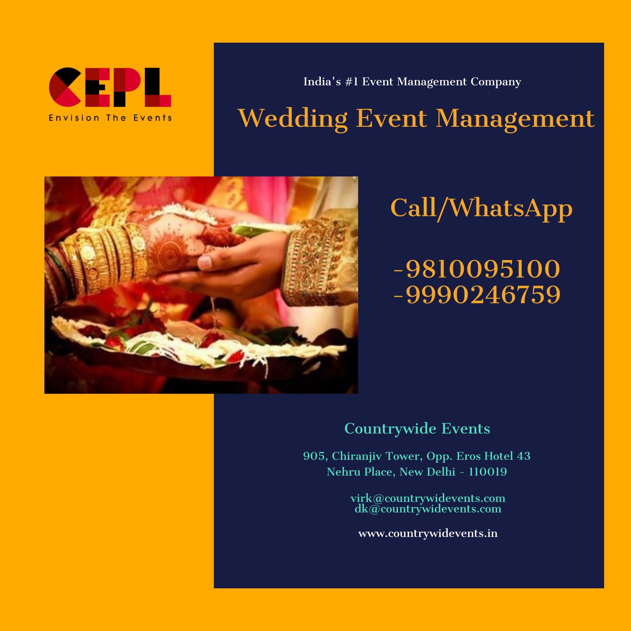 Wedding Event Management | Best Wedding Planner in Delhi-Events-Other Events-Delhi