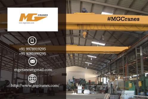 MG Cranes serve products like EOT Crane, Overhead Crane, Heavy Duty EOT Crane, Electric Wire Rope Hoist and Electric Hoist in Ah-Vehicles-Construction Machinery-Ahmedabad