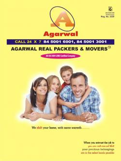 Agarwal Real Packers And Movers 84 5001 6001-Services-Moving & Storage Services-Rajpur Sonarpur