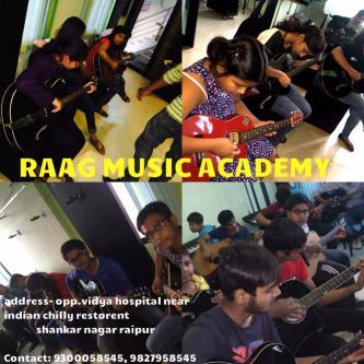 Sep 2nd – Dec 30th (Sun) – Music Classes For Drum, Guitar,Octapad, Singing,Keyboard-Classes-Art Music & Dance Classes-Music Classes-Raipur