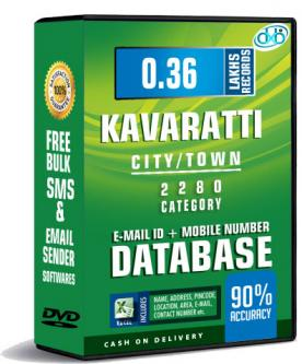 Kavaratti city Email ID + Mobile Number Database for service pr-Services-Other Services-Kavaratti