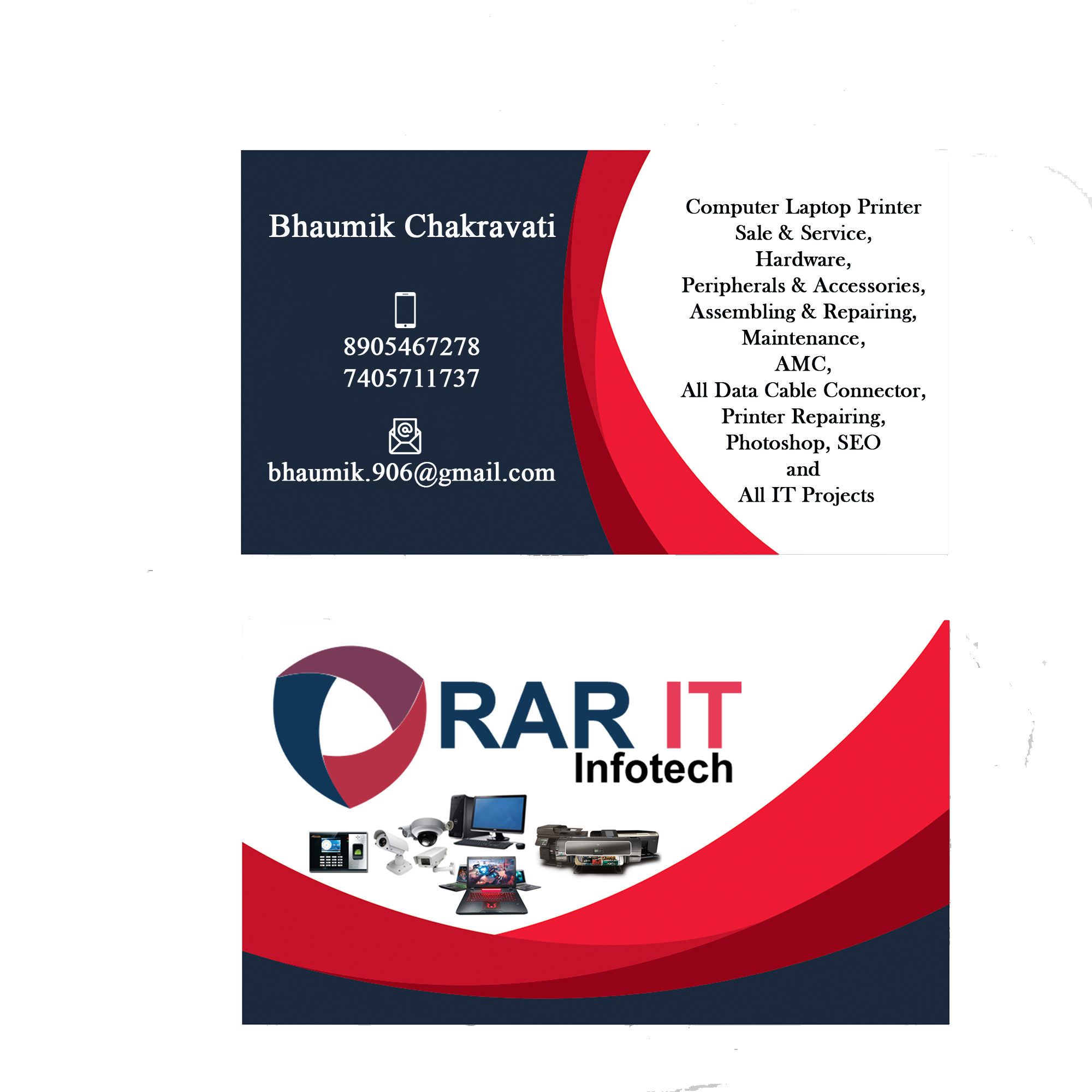RAR IT INFOTECH-Services-Computer & Tech Help-Vadodara