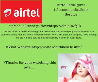 Airtel India gives telecommunications Service-Jobs-Information Technology-Pune