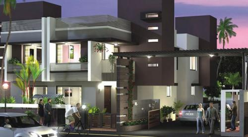 5 BR, 255 ft² – Best 5 Bedroom Villa in Ahmedabad  - The Bungalows, Ahmedabad-Real Estate-For Sell-Houses for Sale-Ahmedabad