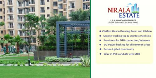 3 BR, 1245 ft² – Nirala Estate Sale New Flats In Your Pocket Budget, 8447146146-Real Estate-For Sell-Flats for Sale-Delhi