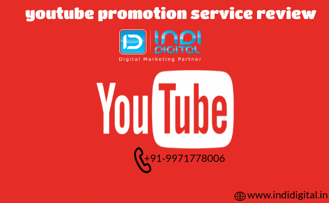 Get the best youtube promotion service review-Services-Web Services-Ghaziabad