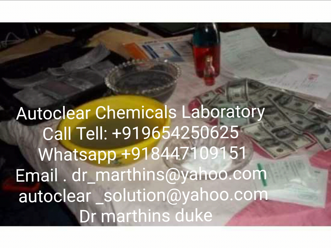 SSD CHEMICALS AUTOMATIC SOLUTION FOR CLEANING BLACK MONEY-Events-Other Events-Delhi