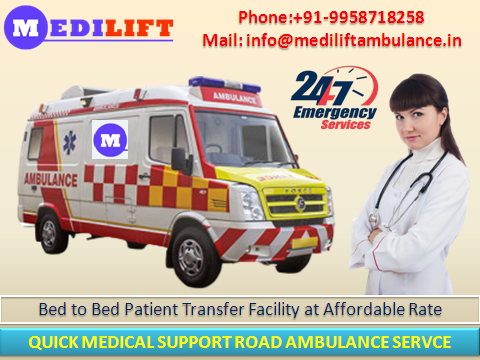 Safe Patient Transfer Ambulance Service in Patna by Medilift-Services-Health & Beauty Services-Health-Patna