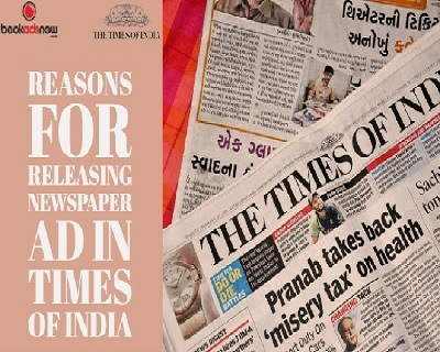 Book Your Newspaper Ad in Times of India For Chennai Region-Services-Creative & Design Services-Kolkata