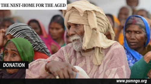 Donate Online for Old People-Community-Elderly Home Assistance-Hyderabad