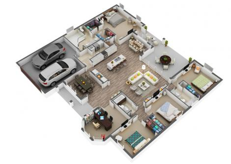 3D Floor Plan Services-Jobs-Arts & Culture-Ahmedabad