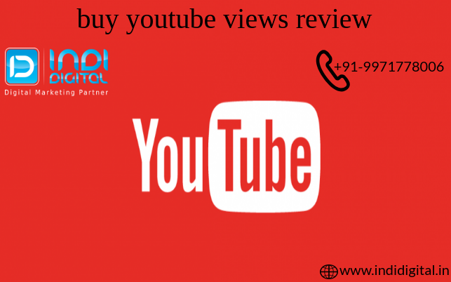 Get the best buy youtube views review-Services-Web Services-Ghaziabad