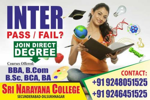 Courses for 12th fail students join degree in hyderabad-Community-Qualified Trainers-Hyderabad
