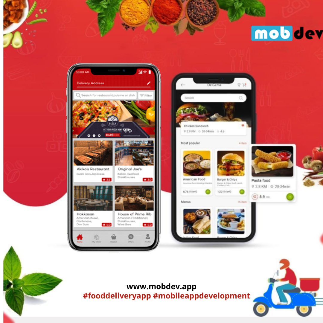 Food Delivery App Development Services at affordable cost-Services-Web Services-Kozhikode