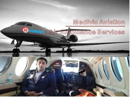 Medivic Aviation Air Ambulance Service in Raipur at the Low Fare-Services-Health & Beauty Services-Health-Raipur
