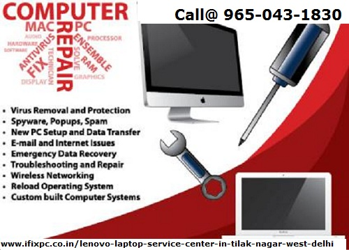 Onsite Lenovo laptop service center -Services-Computer & Tech Help-Delhi