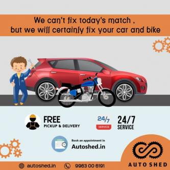 TWO-WHEELER & FOUR-WHEELER ONLINE REPAIR SERVICE HYDERABAD-Services-Automotive Services-Hyderabad