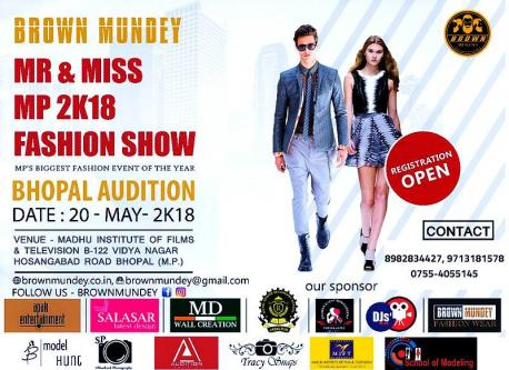 May 20th – AUDITION WILL BE HELD IN BHOPAL ON 20 MAY. 2018-Jobs-Arts & Culture-Sagar