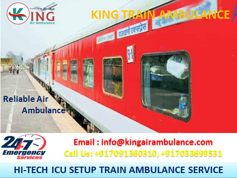 Low-Fare Classy King Train Ambulance Service in Kolkata-Services-Health & Beauty Services-Health-Kolkata