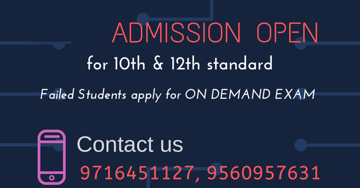 NIOS Online Admission for 10th / 12th in vasant kunj-Classes-Continuing Education-Pul Pehlad