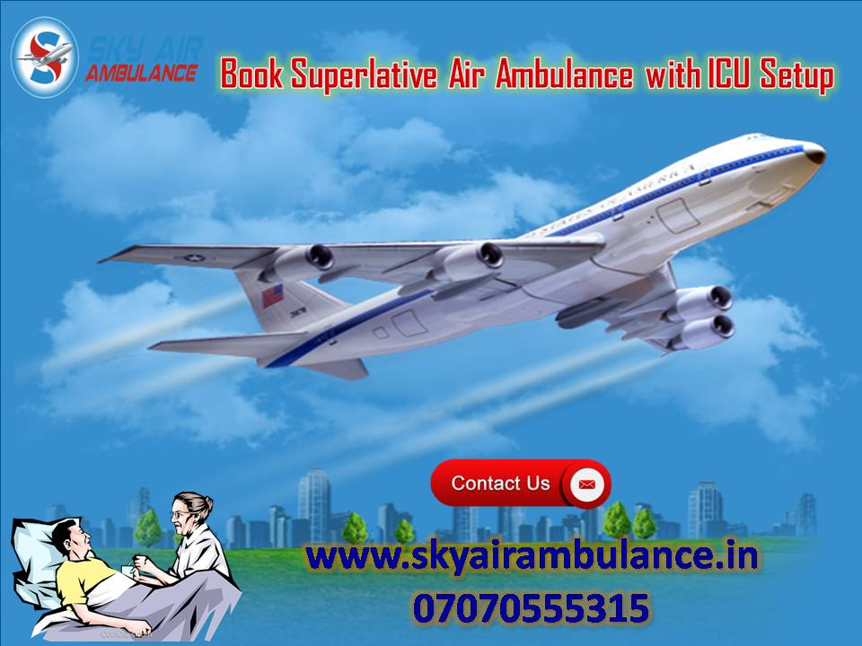 Take Sky Air Ambulance Service in Goa with Qualified Doctor-Services-Health & Beauty Services-Beauty-Goa