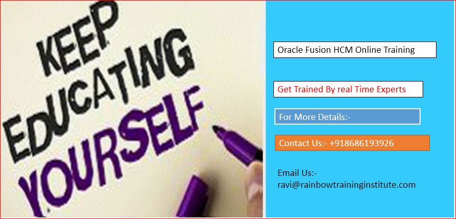 Oracle Fusion HCM Online Training-Jobs-Education & Training-Hyderabad